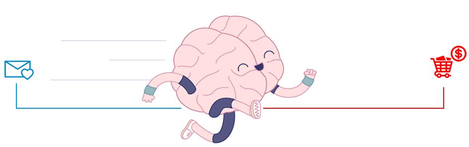 Das Gehirn stoppt nicht im Newsletter